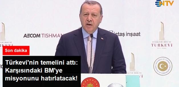 Son Dakika! Erdoğan New York'ta Türkevi'nin Temelini Attı: BM'ye Misyonunu Hatırlatacak!