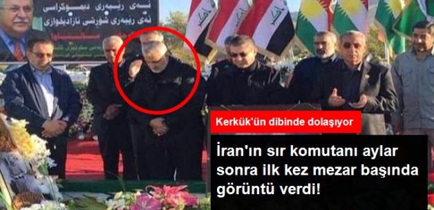 İran'ın Sır Komutanı Kasım Süleymani, Aylar Sonra Talabani'nin Mezarında Görüntülendi