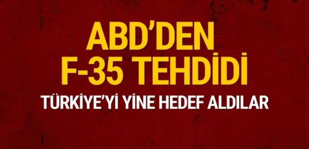ABD'den Türkiye'ye F-35 tehdidi! Ankara'ya yaptırım uyarısı