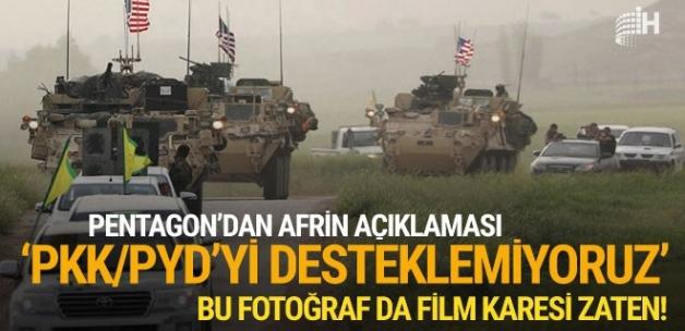Pentagon'dan flaş Afrin açıklaması
