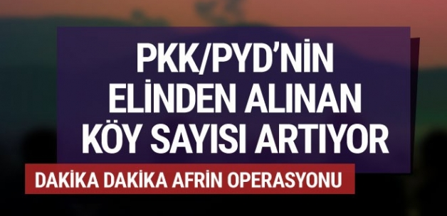 Afrin harekatı son dakika... PYD ağır kayıp veriyor