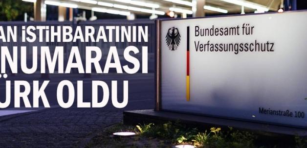 Alman istihbaratının iki numarası Türk oldu