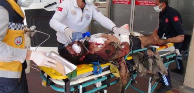 Tel Abyad'da terör örgütünün roketli saldırısında 2 SMO askeri şehit oldu 7'si yaralandı