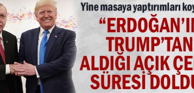 """Yine masaya yaptırımları koydular... """"Erdoğan'ın Trump'tan aldığı açık çekin süresi doldu"""