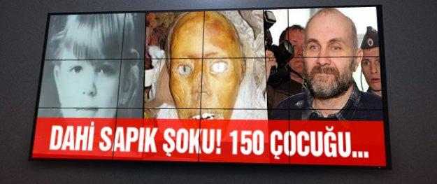 Anatoly Moskvin 150 çocuğun cesediyle yakalandı