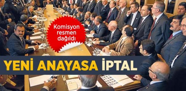 Anayasa Uzlaşma Komisyonu Resmen Dağıldı!