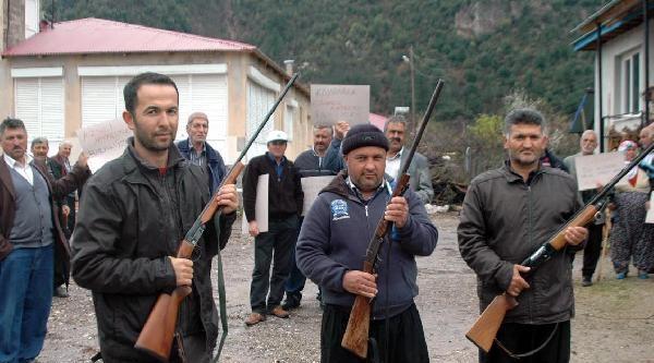 Andırın'da Hayvan Hırsızlığı Köylüleri İsyan Ettirdi
