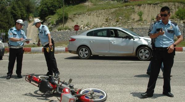 Andırın'da Kaza: 2 Yaralı