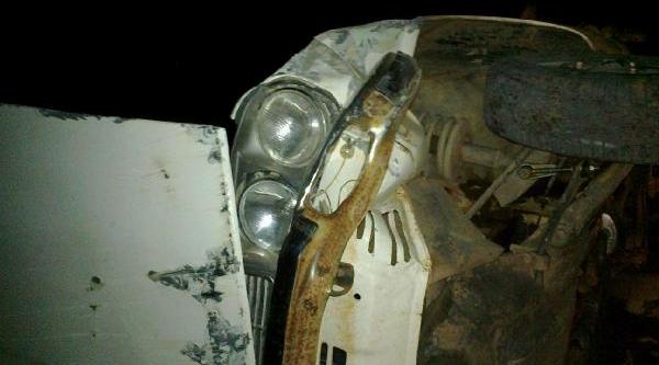 Andirin'da Otomobil Devrildi: 1 Ölü, 3 Yarali