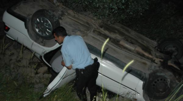 Andırın'da Otomobil Devrildi: 4 Yaralı
