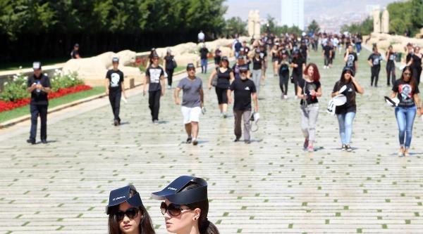 Anıtkabir'de 6 Bin Kişiyle En Büyük Atatürk Portresi