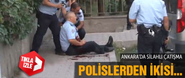 Ankara' da Silahlı Çatışma