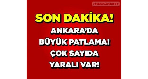 Ankara OSTİM'de büyük patlama!