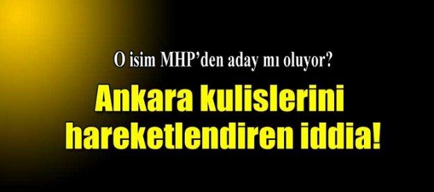Ankara kulislerini hareketlendiren iddia!