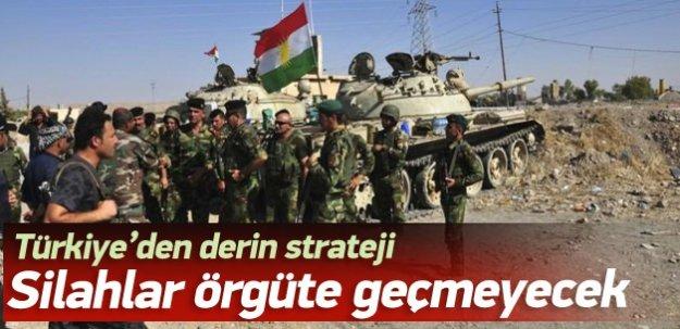 Ankara silahların örgüte geçmesini engelleyecek