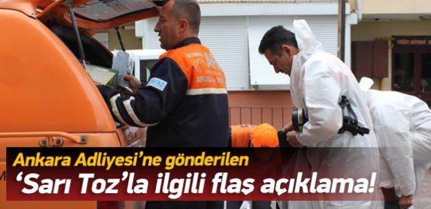 Ankara Valiliği'nden zarflarla ilgili açıklama