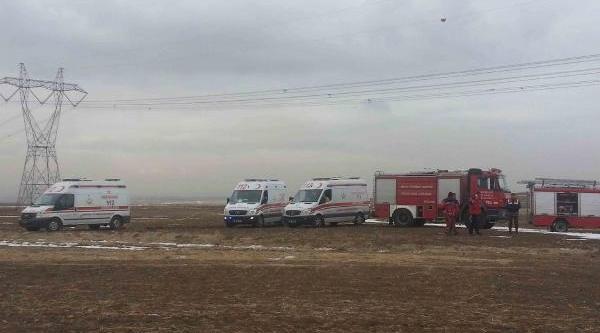 Ankara'Da Askeri Helikopter Düştü (3)