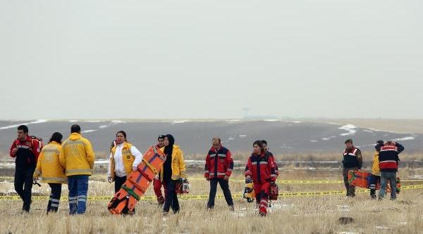 Ankara'Da Askeri Helikopter Düştü (Ek Fotoğraflar)
