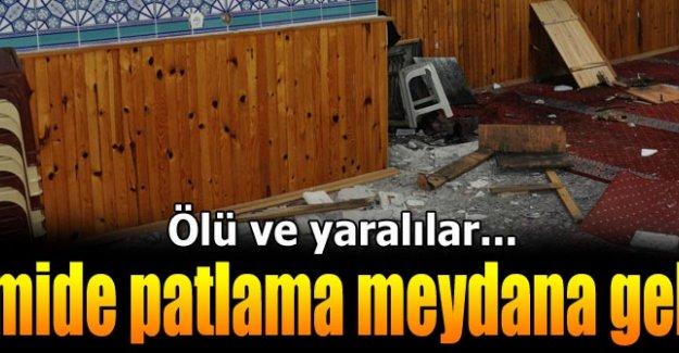Ankara'da camide patlama: 1 ölü 3 yaralı