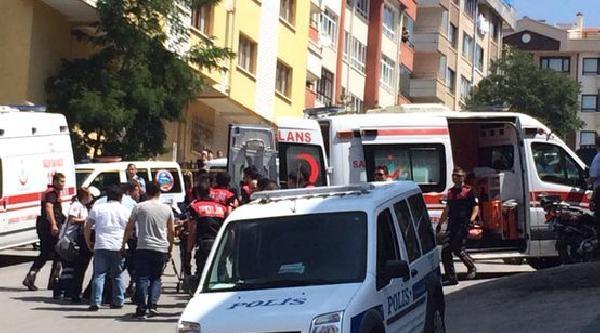 Ankara'da Çatişma: 2'si Polis, 5 Yaralı - Ek Fotoğraflar