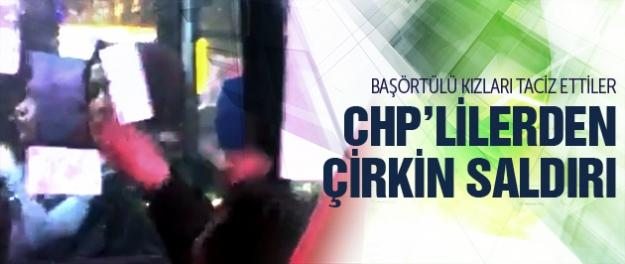 Ankara'da CHP'lilerden çirkin saldırı!