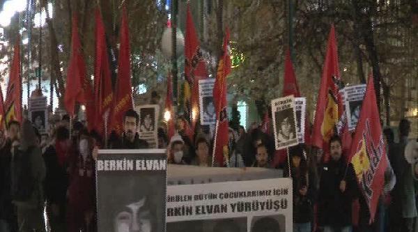Ankara'da Eylemci Gruba Gazsız Müdahale