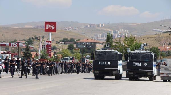 Ankara'da Olaylı Yıkım / Ek Fotoğraflar