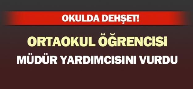 Ankara'da Ortaokul Öğrencisi, Müdür Yardımcısını Vurdu