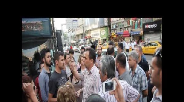 Ankara'da Otobüs Güzergahı Eylemi