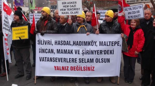 Ankara'da 'sessiz Çiğlik' Eylemi