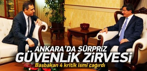 Ankara'da sürpriz güvenlik zirvesi