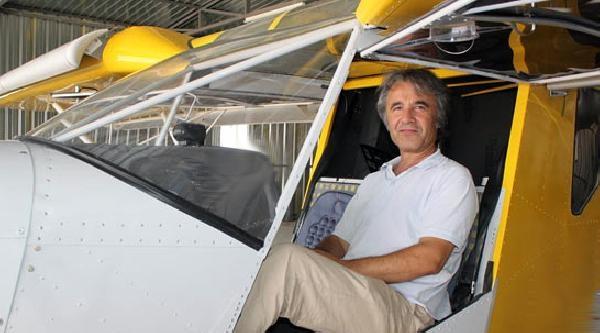Ankara'da Tek Kişilik Özel Uçak Düştü, Pilot Öldü (fotoğraflar)