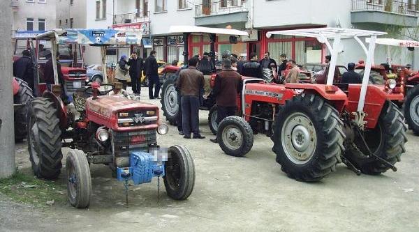 Ankara'da Traktörlerin Yüzde 85'i Muayenesiz