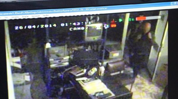 Ankara'daki Hırsızlık Güvenlik Kameralarında