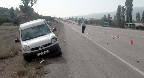 Ankaralı Dolmuş Şoförü, Sivas'ta Kazada Öldü