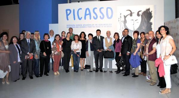 Ankaralı Sanatçılar Pıcasso'nun Eserlerıyle Buluştu