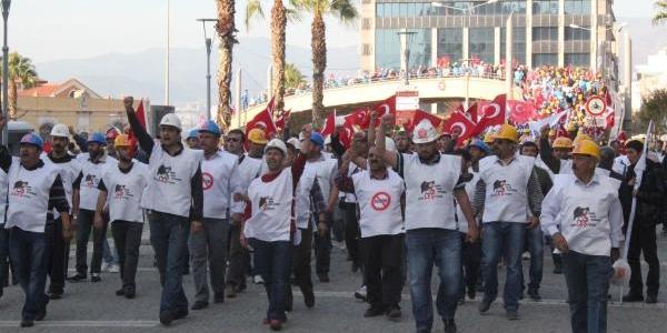Ankara'ya Yürüyen Işçilere Aydin'da Polis Müdahalesi (3)