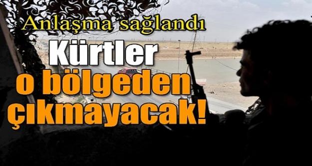 Anlaşma sağlandı! Kürtler o bölgeden çıkmayacak!