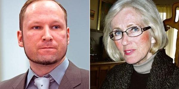 Annesi Breivik'I Affetmiş
