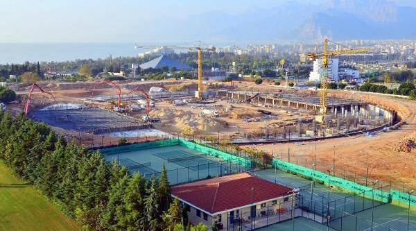 Antalya Stadyumu'nun Yüzde 15'i Tamamlandi