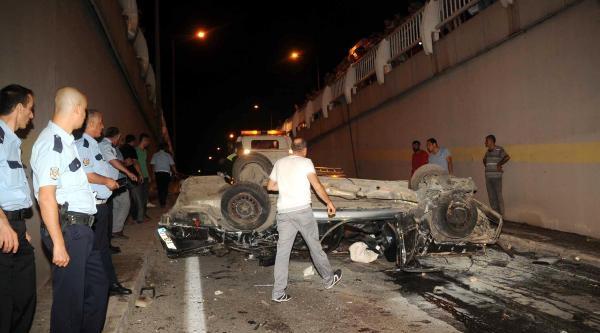 Antalya'da 2 Kazada 12 Yaralı