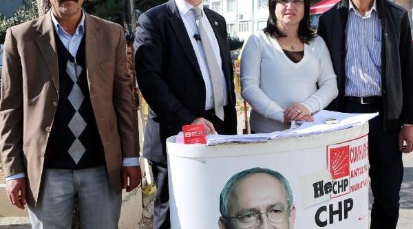 Antalya'da 50 Bin Seçmen Kayip Iddiasi