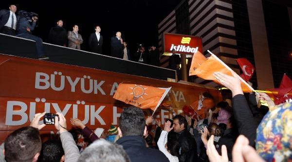 Antalya'da Ak Parti'de Sevinç (2)