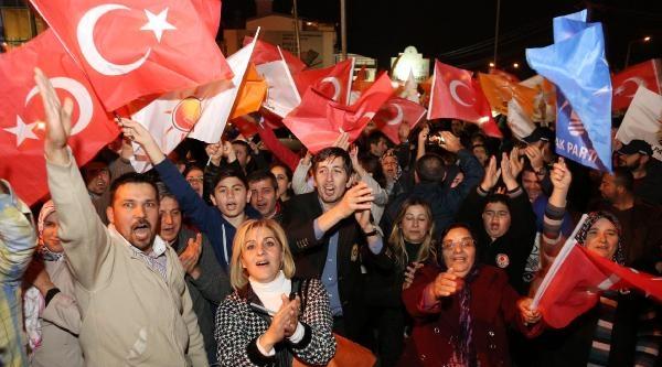 Antalya'da Ak Parti'de Sevinç - Ek Fotoğraflar