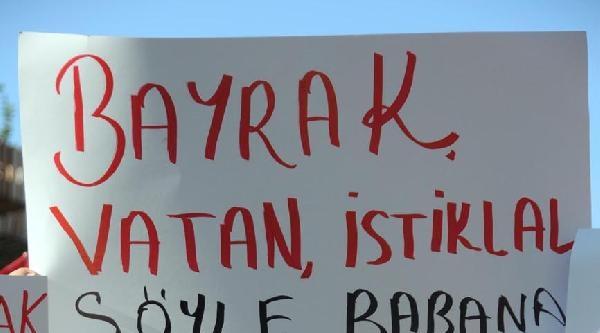 Antalya'da 'bayrak' Yürüyüşü
