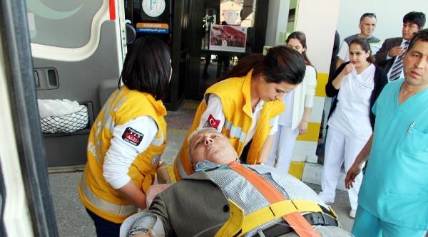 Antalya'da Chp Konvoyunda Kaza: 5 Yaralı-fotoğraflar