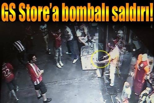 Antalya'da GS Store mağazasına saldırdılar!
