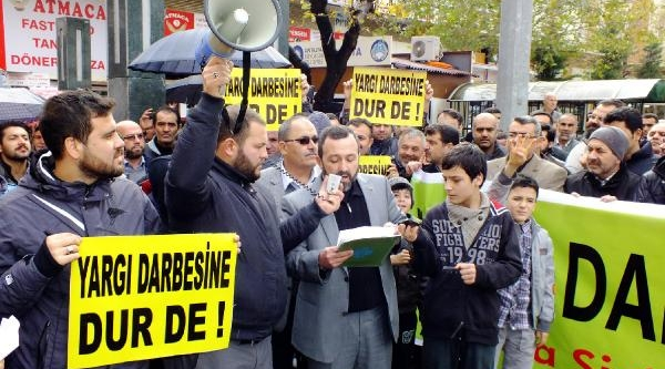 Antalya'da Hükümete Destek Açiklamasi