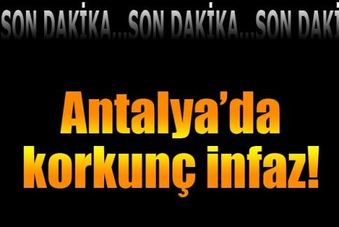 Antalya'da iki kişi öldürülmüş halde bulundu