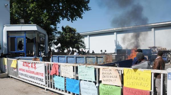 Antalya'da İşçilerin Fabrika İşgali Sürüyor: Fabrikayı Yakacağız